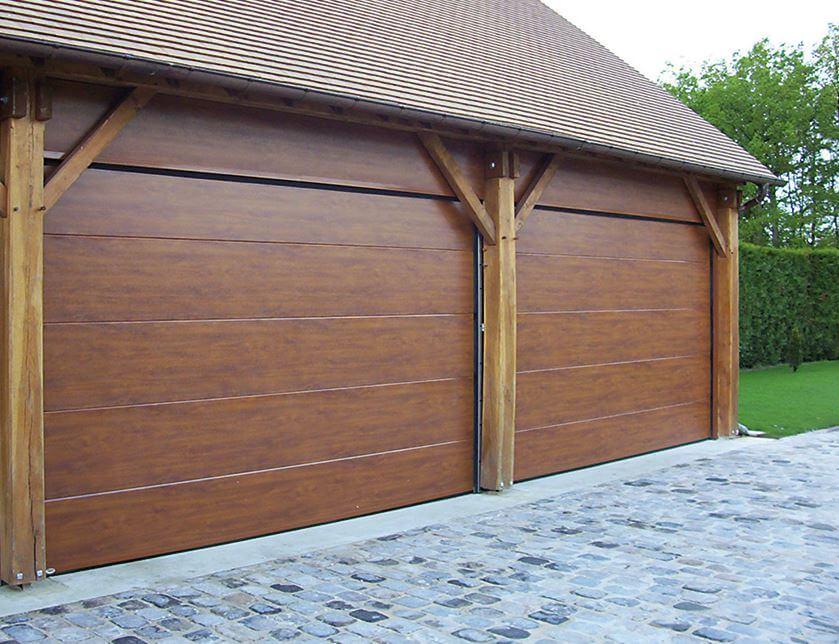 Porte de garage sur mesure chartres en eure et loir - Ouvre porte de garage installation ...